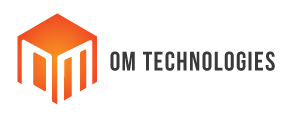 om technology logo